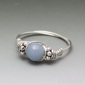 Angelite Bali Ring