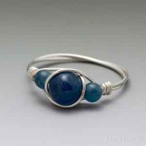 Apatite Bead Ring
