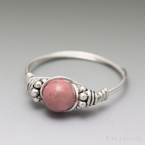 Rhodonite Bali Ring