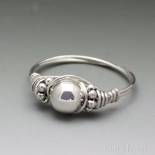 Silver Bali Ring