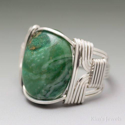 African Jade Ring