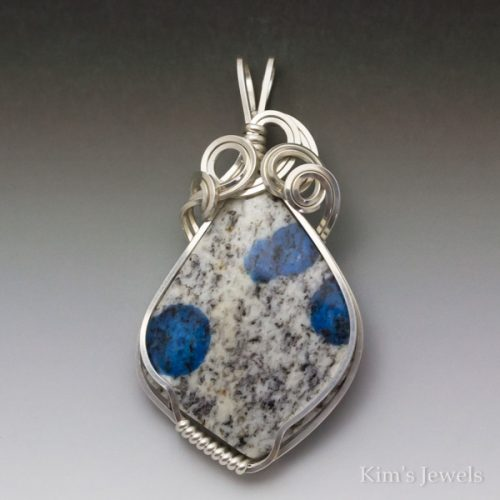 "Blue ""Jasper"" Pendant"