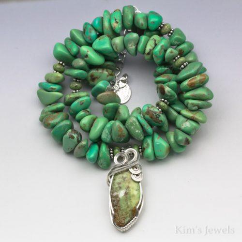 Gaspeite Necklace