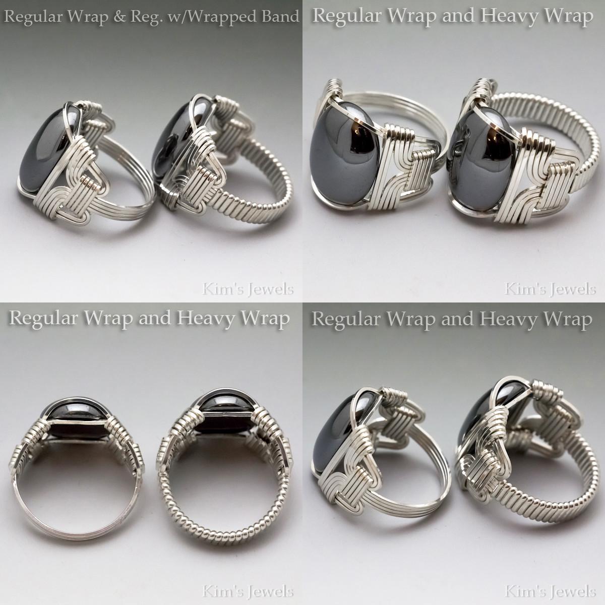 Tree Agate Sterling Silver Wire Wrapped Gemstone Cabochon Ring Hazel Glass Eye Wrap Pendant By Kimsjewels On Etsy